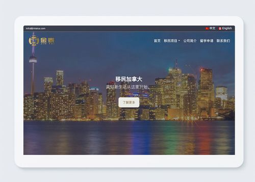 Jintai 金泰移民-website-mooc creative